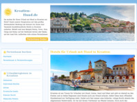 Frontpage screenshot for site: Smještaj Hrvatska: apartmani, hoteli, sobe, studio-apartmani, kuće za odmor (http://www.bookingcroatia.eu)
