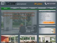 Slika naslovnice sjedišta: PVC stolarija SeCOM - PVC prozori i ulazna vrata (http://www.secom.hr)