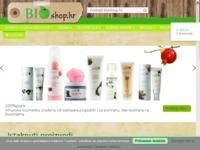 Frontpage screenshot for site: BioShop.hr (http://www.bioshop.hr/)