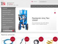 Slika naslovnice sjedišta: Tehnični sistemi d.o.o. (http://www.pjeskarenje.hr)