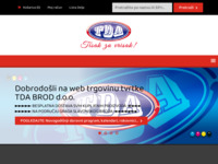 Slika naslovnice sjedišta: TDA BROD d.o.o. (http://www.tda.hr)