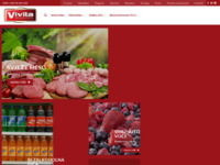 Frontpage screenshot for site: Vivita - Nvf Plus d.o.o. (http://www.vivita.hr)