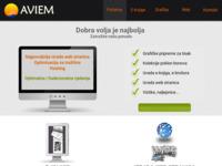 Slika naslovnice sjedišta: Aviem informatičke usluge (http://www.aviem.hr)