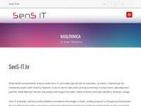 Slika naslovnice sjedišta: SenS IT - Informacijski sustavi i oprema. (http://www.sens-it.hr)