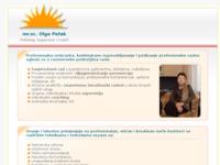 Frontpage screenshot for site: Psiholog Zagreb mr.sc. Olga Petak (http://psiholog.olga-petak.com/)