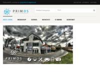 Frontpage screenshot for site: Primos (http://www.primos-informatika.hr)