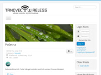 Frontpage screenshot for site: (http://trnovec-wireless.hr)