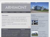 Slika naslovnice sjedišta: Arhimont d.o.o. (http://www.arhimont.hr)