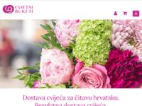 Frontpage screenshot for site: Cvjetni buketi (http://cvjetnibuketi.hr/)