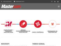 Frontpage screenshot for site: Mastercam Hrvatska, Camteh d.o.o. (http://www.mastercam.hr/)