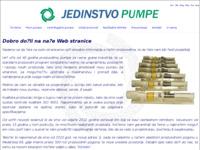 Frontpage screenshot for site: Jedinstvo pumpe (http://www.jedinstvo-pumpe.hr)