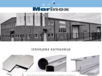 Frontpage screenshot for site: www.marinox.hr (http://www.marinox.hr)