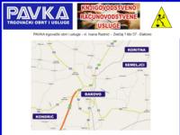 Slika naslovnice sjedišta: Pavka - trgovački obrt i usluge (http://www.pavka.hr)