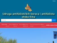 Slika naslovnice sjedišta: Udruga antifašističkih boraca i antifašista otoka Krka (http://uaba-otoka-krka.hr)