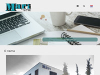 Frontpage screenshot for site: Mari d.o.o. (http://www.mari.hr)