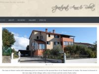 Frontpage screenshot for site: Apartmani Anna & Robert (http://apartmani-annarobert.hr/)