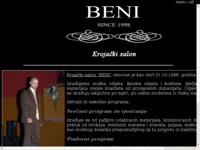 Slika naslovnice sjedišta: Krojački salon Beni (http://www.beni.hr)