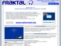Frontpage screenshot for site: BLIC 1.2 (http://www.fraktal.hr/)