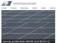 Slika naslovnice sjedišta: Hrvatska stručna udruga za Sunčevu energiju (http://www.hsuse.hr)