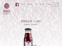 Slika naslovnice sjedišta: Aronija Mandić - zdrava bobica (http://www.aronija-mandic.hr)