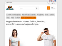 Frontpage screenshot for site: GiftShirts.eu - Svijet tiskanih majica, darova i još mnogo toga. (http://www.giftshirts.eu/)