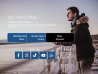 Frontpage screenshot for site: Filip Čačija Tutorials (http://www.filip-cacija.iz.hr)