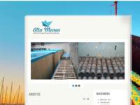 Slika naslovnice sjedišta: Alta Marea (http://altamarea.hr/)