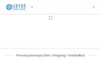 Frontpage screenshot for site: Gavan turizam d.o.o. (http://www.gavanturizam.hr)