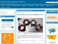Frontpage screenshot for site: (http://oaza-bm.hr)