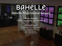 Frontpage screenshot for site: Bahelle Beauty Distribution (http://www.bahelle.hr)