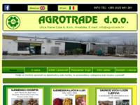 Slika naslovnice sjedišta: Agrotrade d.o.o. (http://www.agrotrade.com.hr)