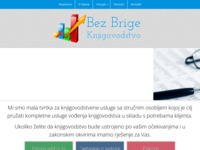 Frontpage screenshot for site: (http://www.bez-brige.hr)