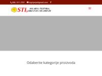 Slika naslovnice sjedišta: STI Solarna Tehnika, Grijanje i Hlađenje (http://stisolar.hr)