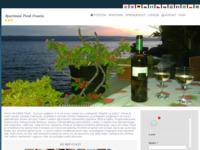 Frontpage screenshot for site: Beach House Ivana Pisak - Pisak, Rivijera Omiš (http://www.apartmani-anka-pisak.hr/)