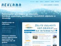 Slika naslovnice sjedišta: Reklama.hr - oglašavanje apartmana na internetu (http://reklama.hr)