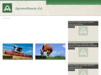 Slika naslovnice sjedišta: Agromeđimurje Čakovec (http://www.agromedjimurje.hr)