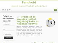 Frontpage screenshot for site: Fandroid (http://www.jvucic.mojweb.com.hr)