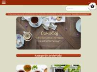 Slika naslovnice sjedišta: ČokoČaj - specijalizirana trgovina čajeva (http://cokocaj-trgovina.hr/)