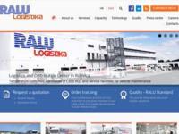 Slika naslovnice sjedišta: RALU d.o.o. - International transport (http://www.ralu.hr)