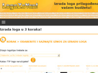 Frontpage screenshot for site: Logo za Van! (http://www.logozavan.com)