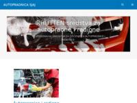 Slika naslovnice sjedišta: Autopraonica Sjaj (http://www.autopraonica-sjaj.hr)