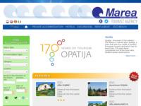 Frontpage screenshot for site: Turistička agencija Marea - Rivijera Opatija (http://marea.hr)