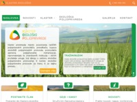 Slika naslovnice sjedišta: Klaster ekološke poljoprivrede (http://kep.hr/)