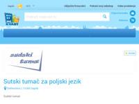 Frontpage screenshot for site: Sudski tumač za poljski i talijanski jezik (http://www.mojkvart.hr/Zagreb/Precko/Sudski-tumac/sudski-tumac-poljski-jezik)