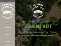 Frontpage screenshot for site: Zeleni kut, Puskaric (http://www.zeleni-kut-puskaric.hr)
