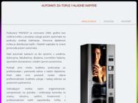 Slika naslovnice sjedišta: Automati Mondo (http://www.automati-mondo.hr)