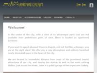Frontpage screenshot for site: Apartmani Centrum (http://www.apartmaniajdukovic.hr)
