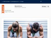 Slika naslovnice sjedišta: Brucoš centar za poduku i savjetovanje (http://www.brucos.hr)
