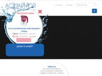 Slika naslovnice sjedišta: Aquaphor (http://www.aquaphor.com.hr)
