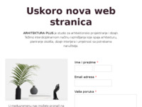 Slika naslovnice sjedišta: Arhitektura plus (http://www.arhitekturaplus.hr)